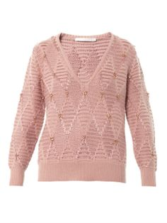 Diamond knit sweater | Thakoon Addition | MATCHESFASHION.COM