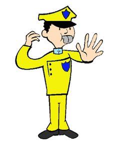 Os gestos do agente de trânsito são a forma de expressão da vontade do ato