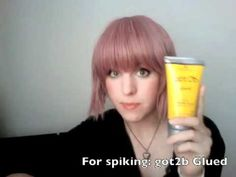 EXCELLENT tutorial on wigs concerning caring for, dying, spiking, cutting, curling etc.