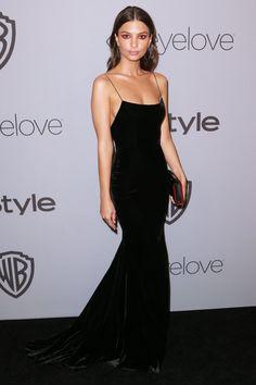Golden Globes 2018 Afterparty Dresses - Emily Ratajkowski