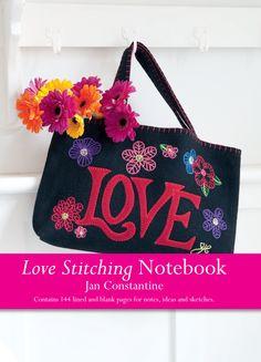 'Love Stitching Notebook: Love' by Jan Constantine. www.jacquismallpub.com