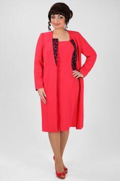 ЭЛЬЗА 1599 Платье+тренч Dresses For Work, Fashion, Moda, Fashion Styles, Fasion