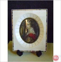 Victorian Ivory Frame Portrait Miniature Listing in the Other,Decorative,Antiques Category on eBid United Kingdom
