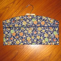 Tama Balls & Fans Design Closet Hanger Organizer Quilted Asian Japanese Fabric Blue by JapanesqueAccents on Etsy