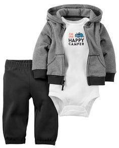 Child Of Mine Baby Boy's First Responders Hooded Romper 6-9m New With Tags