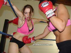 Courtney rises up to pummel Erika!