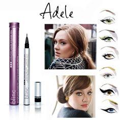 Adele è la regina degli occhioni da gatta! Imita il suo stile facendoti aiutare dall'eyeliner più sottile al mondo! http://www.vanitylovers.com/brands/blinc/blinc-ultrathin-liquid-eyeliner-pen-black.html?utm_source=pinterest.com&utm_medium=post&utm_content=vanity-blinc-ultrathin&utm_campaign=pin-vanity