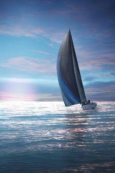 La libertad de un velero