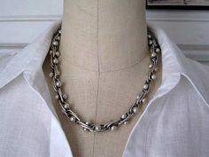 Vintage William Spratling Sterling Silver DNA by PaperLinenPearls