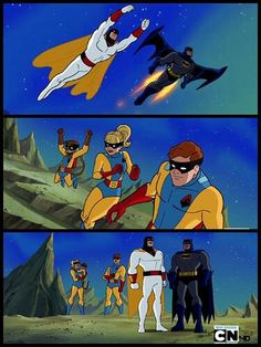 Space Ghost and Batman