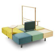 "Roger Persson creates furniture ""smörgåsbord"" with Konnekt system for Swedese"