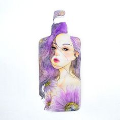 bottle stories    order accept props/painting/design/sculpture custom made order: office website: www.wahahafactory.com #訂製畫 #portrait  #illustration #illustrator #maysum #artcustommade #watercolor #beautyillustration #beauty #bottlestories Beauty Illustration, Portrait Illustration, Paint Designs, Illustrator, Watercolor, Sculpture, Website, Bottle, Painting