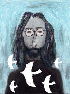 John Lennon . Tetsuhiro Wakabayashi