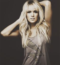 Carrie Underwood bangs if I ever get the courage to cut them
