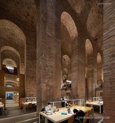 Fotografia de Arquitectura Biblioteca-Diposit-de-les-Aigues-Clotet-Paricio-arquitectos-SG1209_013_7259