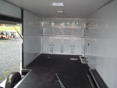 enclosed race ready trailer wit elite escape door