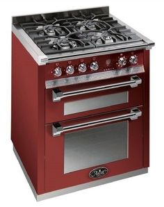 DeLonghi 36-inch stove includes double oven or similar - with a grill - a 6 burner stove is what we are looking for - doesn't have to be this brand. Description from pinterest.com. I searched for this on bing.com/images