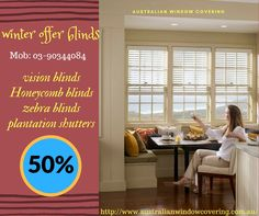 winter special offer for blinds in Melbourne.new design and  color .http://www.australianwindowcovering.com.au/
