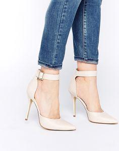Zapatos de salón con tira al tobillo Stakes de London Rebel