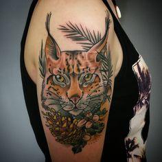 Luchs Tattoo