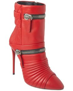 Spotted this Giuseppe Zanotti Leather Boot on Rue La La. Shop (quickly!).