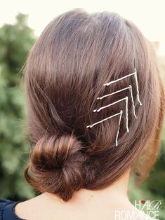 Bobby pins are not just useful, they can be beautiful too! Here's some bobby pin hairstyle inspiration to give your everyday hairstyles a lift. Thanks to my lovely friend Mona for helping with these s