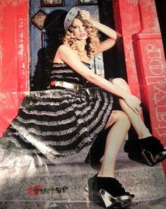 Cute Taylor Swift dress mini tutorial.