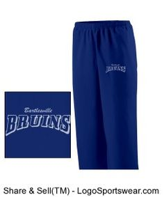 Check out this Bartlesville Bruins Pants available at Bartlesville Blues