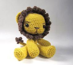Arthur The Lion Amigurumi Pattern