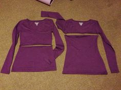 Vanilla Bean: Easiest breastfeeding top DIY. I want to try this!!!