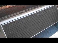 prueba automatizacion deck cubre pileta - YouTube