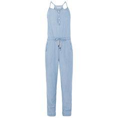 MARIA FILÓ - Macacão jeans Maria Filó bolsos - azul - OQVestir