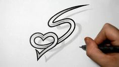 Drawing letter y with heart combined cool tattoo design idea designing letters combined with hearts tattoo design ideas for initials playlist thecheapjerseys Gallery