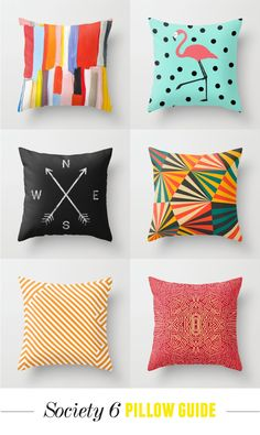 Pillows from Society 6