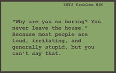 INTJ Problems #60
