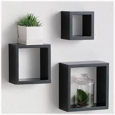 feature wall boxes for potted herbssucculents decorative wall shelvesfloating - Decorative Wall Shelves