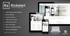 Kickstart v2.7 - Retina Responsive MultiPurpose WordPress Theme