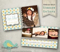 Photography Business Card Templates - Business Card 9. $8,00, via Etsy.