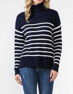 8872f415fb7 Fisherman cable crewneck sweater