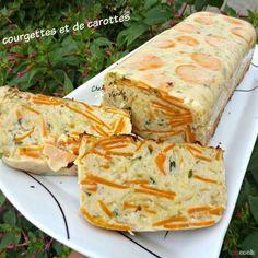 Recette Pain de courgettes et de carottes pour 4 personnes