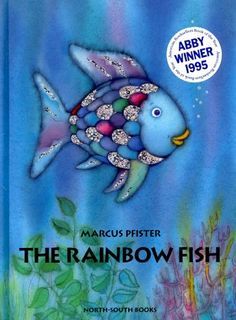 The Rainbow Fish is written and illustrated by Marcus Pfister and read by Ernest Borgnine. The Rainbow Fish is an award-winning book about a beautiful fish w.
