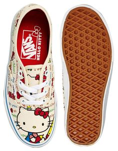 Hello Kitty+ Vans