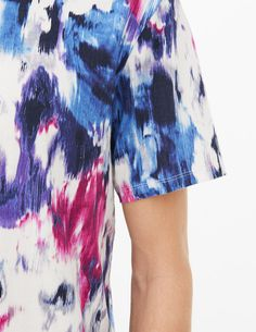 Blossom T-Shirt - T-shirts  amp  Polos - Sandro Paris Mens Fashion 4d405fb83e2