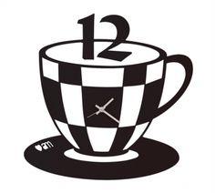 Zegar ścienny TAZZINA Czarny - Arti&Mestieri - DECO Salon Tableware, Dinnerware, Tablewares, Dishes, Place Settings