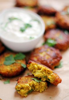 Fritters on Pinterest | Zucchini Fritters, Cauliflower Fritters and ...