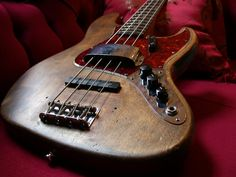 64 Fender Jazz Bass - Shared by The Lewis Hamilton Band Fender Bass Guitar, Fender Guitars, Vintage Bass, Vintage Guitars, Music Guitar, Guitar Amp, All About That Bass, Low End, Guitar Strings