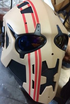 Still accepting orders for our August batch. Paintball Gear, Airsoft Gear, Custom Motorcycle Helmets, Custom Helmets, Zbrush, Tactical Helmet, Tac Gear, Cool Masks, Cosplay