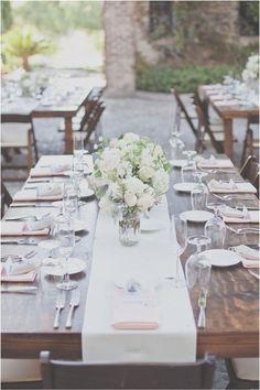Rustic outdoor #tablesettings I Hazelwood Photo I #weddingdecor