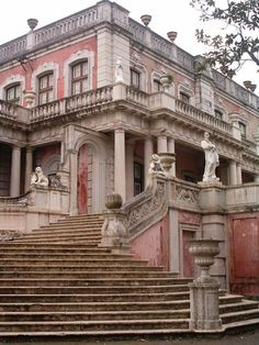 staircase, national palace of queluz, portugal   travel destinations in europe #wanderlust