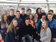 London Eye, London Squad Selfie